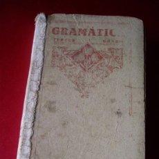 Libros de segunda mano: GRAMATICA TERCER GRADO - EDITORIAL LUIS VIVES 1940 -. Lote 36589435