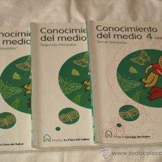 Libros de segunda mano: CONOCIMIENTO DEL MEDIO 4º PRIMARIA LA CASA DEL SABER. SANTILLANA .COMUNIDAD VALENCIANA. USA . Lote 36818004