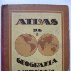 Libros de segunda mano - ATLAS DE GEOGRAFÍA MODERNA - DALMAU CARLES PLA - AÑO 1937. - 37441042