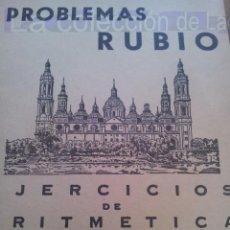 Libros de segunda mano: CUADERNO RUBIO EJERCICIOS ARITMETICA 1ª PARTE Nº 9 DE 1959. Lote 37913123