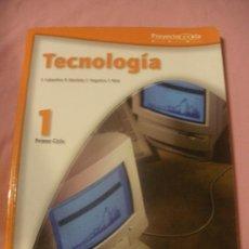 Libros de segunda mano: LIBRO DE TEXTO TECNOLOGIA 1 PRIMER CICLO.E.S.O.POYECTO@ULA. EDITORIAL TEIDE.. Lote 38097299
