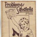 Libros de segunda mano: CUADERNO DE PROBLEMAS SALVATELLA - SEGUNDA SERIE - NUMERO 2- 1959.. Lote 38173934