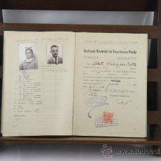 Libros de segunda mano: 3502-LIBRO DE CALIFICACION ESCOLAR. INST. NAC. DE ENSEÑANZA MEDIA. 1946. . Lote 38216845