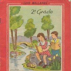 Libros de segunda mano: CUADERNO DE TRABAJOS Y DEBERES ESCOLARES (2º GRADO. EDITORIAL ROMA). Lote 38539728