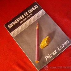 Libros de segunda mano: RUDIMENTOS DE DIBUJO 1ª PARTE - ARTES GRAFICA ( MADRID ) 1969. Lote 38627476