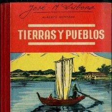Libros de segunda mano: TIERRAS Y PUEBLOS - MANUSCRITO (SALVATELLA, 1958). Lote 38719054