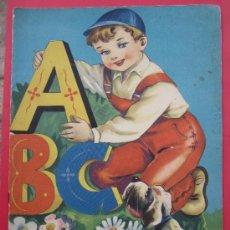 Libros de segunda mano: A B C , LIBRO ESCOLAR DEL ABECEDARIO - EDITORIAL FHER 1960 , ABC. Lote 38722382