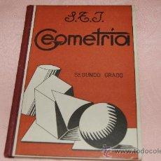 Libros de segunda mano: GEOMETRIA SEGUNDO GRADO S T J. Lote 38807334