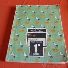 Libros de segunda mano: ANAYA, CORZO, EQUIPO AZOR, TERCER TRIMESTRE 1º E.G.B.. Lote 38930594