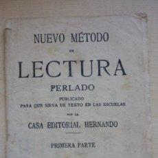 Libros de segunda mano: MÉTODO ANTIGUO DE LECTURAS EN LAS ESCUELAS. MUY CURIOSO. EDITORIAL HERNANDO. AÑO 1961. EL DE LA FOTO. Lote 39179349