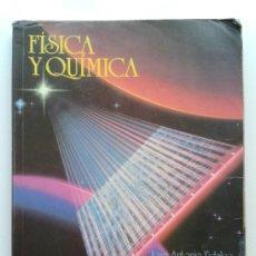 Livres d'occasion: FISICA Y QUIMICA 3 - 3º DE BUP - EDITORIAL EVEREST - 1996. Lote 39249740