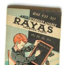 Libros de segunda mano: ANTIGUA CARTILLA RAYAS DE EDITORIAL SÁNCHEZ RODRIGO,. Lote 39584241