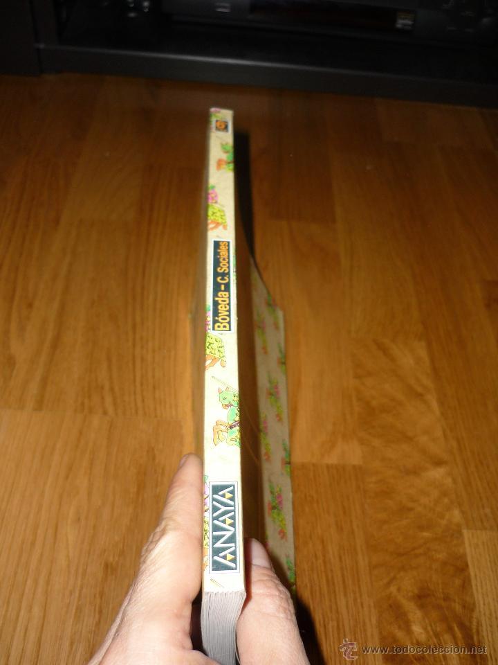 Libros de segunda mano: LIBRO DE TEXTO ANTOS 6 ANAYA CIENCIAS SOCIALES 1984 RAROS PERFECTOS !!! - Foto 3 - 39846362