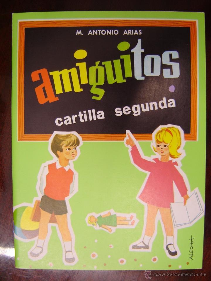 AMIGUITOS, CARTILLA SEGUNDA (NUEVA) (Libros de Segunda Mano - Libros de Texto )