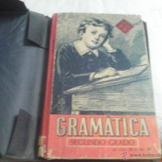 Libros de segunda mano: GRAMÁTICA ESPAÑOLA SEGUNDO GRADO - EDELVIVES - AÑO 1942. Lote 39939334