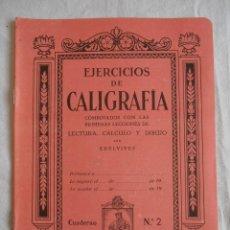 Libros de segunda mano: EJERCICIOS DE CALIGRAFIA Nº2 EDITORIAL EDELVIVES. Lote 102613495