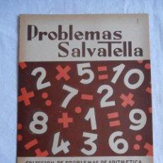 Libros de segunda mano: CUADERNILLO PROBLEMAS SALVATELLA 1 SUMAR. Lote 222412698