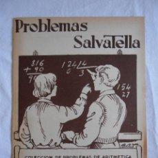 Libros de segunda mano: CUADERNILLO PROBLEMAS SALVATELLA Nº 03 INICIACION A LA MULTIPLICACION. Lote 222412668