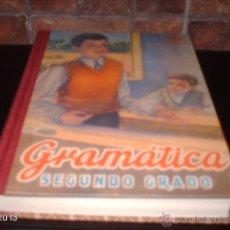 Libros de segunda mano: EDICIÓN FACSÍMIL DE GRAMÁTICA 2º GRADO DE 1947. EDITORIAL RBA. 2009. Lote 40241138