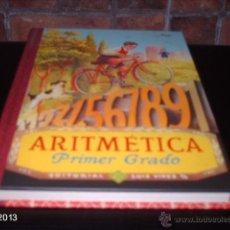 Libros de segunda mano: EDICIÓN FACSÍMIL DE ARITMÉTICA1º GRADO DE 1949. EDITORIAL RBA. 2009. Lote 40241388