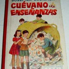 Libros de segunda mano: ANTIGUO LIBRO CUEVANO DE ENSEÑANZAS - POR JOSEFINA BOLINAGA - CON DEDICATORIA Y FIRMA AUTOGRAFA DE L. Lote 38260358