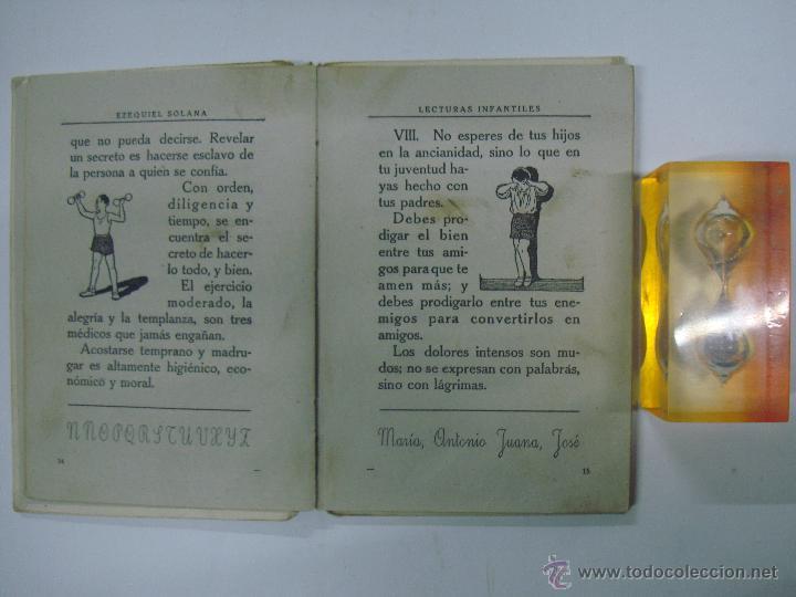 Libros de segunda mano: EZEQUIEL SOLANA. LECTURAS INFANTILES. EDITORIAL ESCUELA ESPAÑOLA 1942 - Foto 2 - 40412380