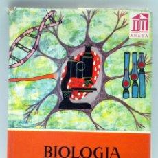 Libros de segunda mano: BIOLOGÍA EMILIO GUINEA LÓPEZ EDICIÓN ESPECIAL MINISTERIO EDUCACIÓN NACIONAL ED ANAYA 1964. Lote 40560964