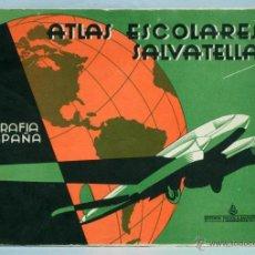 Libros de segunda mano: ATLAS ESCOLARES SALVATELLA GEOGRAFÍA ESPAÑA 2 ED MIGUEL A SALVATELLA 1962. Lote 70655467