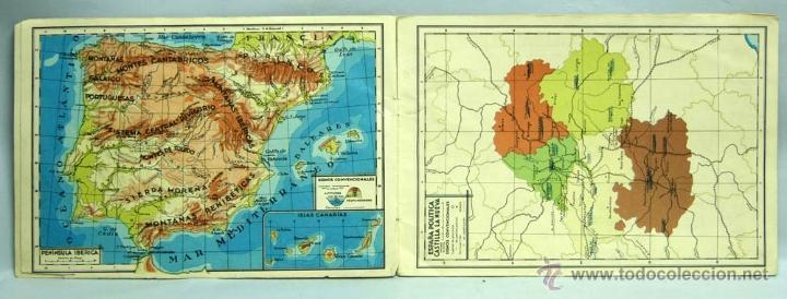 Libros de segunda mano: Atlas Escolares Salvatella Geografía España 2 Ed Miguel A Salvatella 1962 - Foto 3 - 70655467