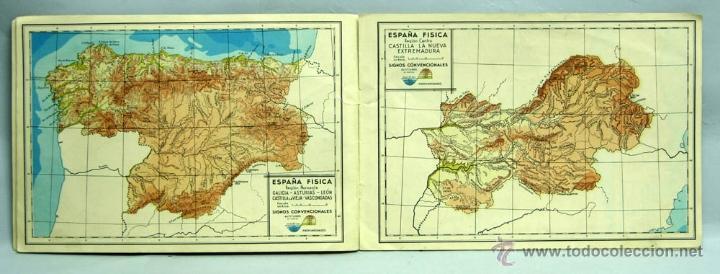 Libros de segunda mano: Atlas Escolares Salvatella Geografía España 2 Ed Miguel A Salvatella 1962 - Foto 4 - 70655467