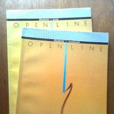 Libros de segunda mano: OPEN LINE 1, STUDENT'S BOOK WORKBOOK, ALHAMBRA, ENGLISH, INGLES. Lote 40668009