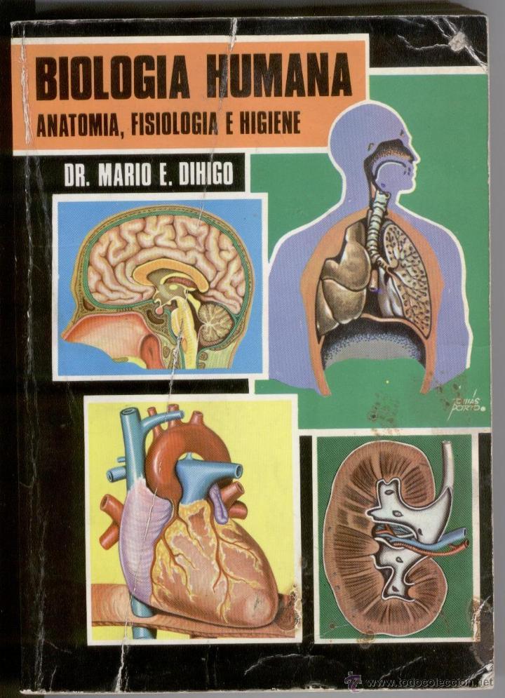 biología humana, anatomía, fisiología e higiene - Comprar Libros de ...