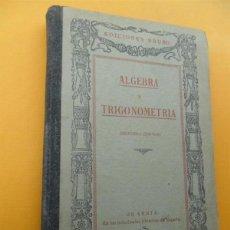 Libri di seconda mano: ALGEBRA. Lote 40829773