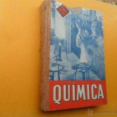 Libri di seconda mano: QUIMICA. Lote 40829805