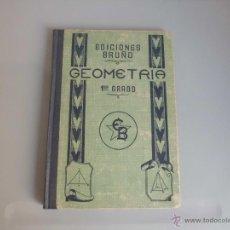 Libros de segunda mano - Libro de escuela Geometria 1er Grado - Ediciones Bruño. - 41095465