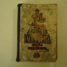 Libros de segunda mano: ENCICLOPEDIA GRADO ELEMENTAL. Lote 41123080