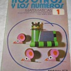 Libros de segunda mano: NOSOTROS Y LOS NÚMEROS, MATEMÁTICAS 1, EDELVIVES, DE 1975. Lote 41226039