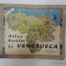 Libros de segunda mano: ATLAS ESCOLAR DE VENEZUELA. AÑO 1950. PRIMERA EDICIÓN. Lote 41350844