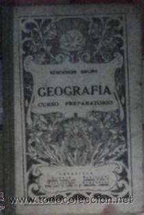 GEOGRAFÍA, CURSO PREPARATORIO, EDICIONES BRUÑO (Libros de Segunda Mano - Libros de Texto )