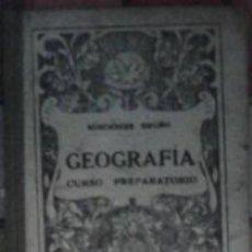 Libros de segunda mano: GEOGRAFÍA, CURSO PREPARATORIO, EDICIONES BRUÑO. Lote 41690503