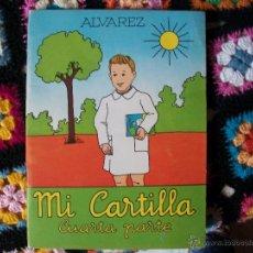 Libros de segunda mano: MI CARTILLA CUARTA PARTE, DE ALVAREZ.1961. Lote 41728655