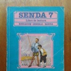 Libros de segunda mano: SENDA 7, LIBRO DE LECTURA, EGB, SANTILLANA, 1988. Lote 41746543