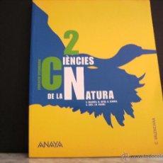 Libros de segunda mano: EDUCACION SEGUNDARIA , CIENCIES DE LA NATURA 2. C . VALENCIA .. Lote 42315452