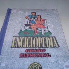 Libros de segunda mano: ENCICLOPEDIA GRADO ELEMENTAL. Lote 42315818