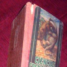Libros de segunda mano: CIENCIAS COSMÓLOGICAS. TERCER CURSO.EDIT. LUIS VIVES 1950 . Lote 42316209