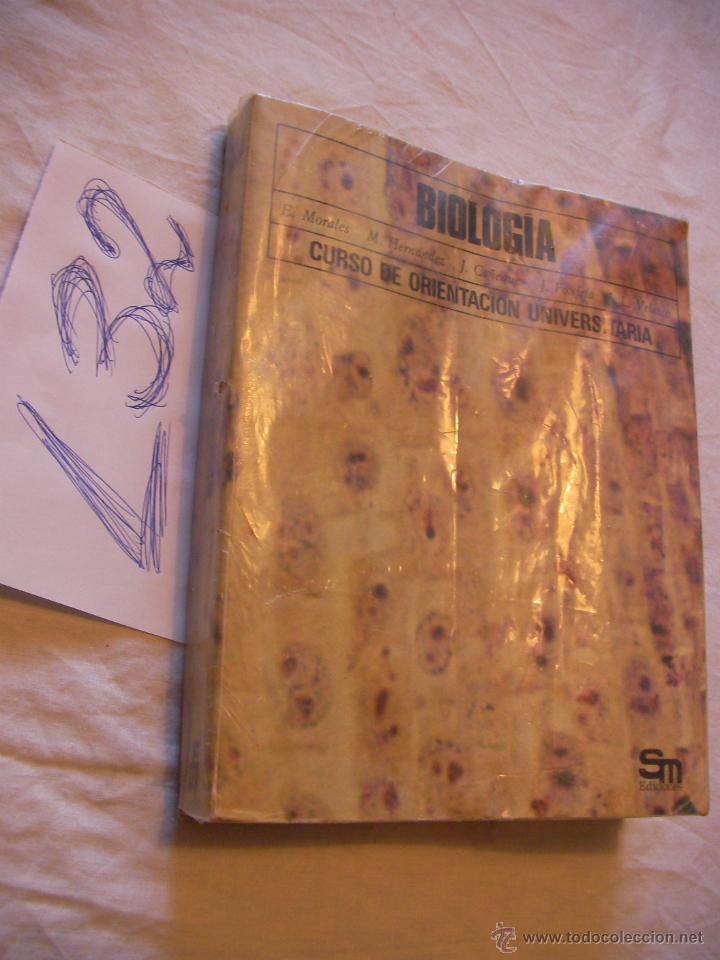 BIOLOGIA - COU (Libros de Segunda Mano - Libros de Texto )