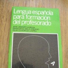 Libri di seconda mano: LENGUA ESPAÑOLA PARA FORMACIÓN DEL PROFESORADO.- 1986.- PLAYOR. Lote 42527490