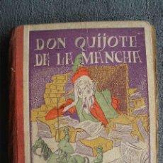 Libros de segunda mano: EL INGENIOSO HIDALGO DON QUIJOTE DE LA MANCHA. EDICIÓN ESCOLAR. POR FELIPE ROMERO JUAN. BURGOS 1940.. Lote 42597515