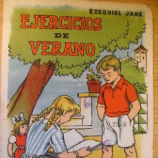 Libros de segunda mano: EJERCICIOS DE VERANO - Nº 1 – SALVATELLA 1959. Lote 42902352