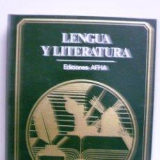 Libros de segunda mano: LENGUA Y LITERATURA, TEXTOS ANTONIO CUNILLERA - 1977 - EDICIONES AHFA. Lote 42935519